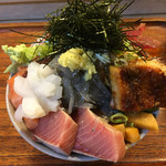 73507419 - 海鮮丼1000円