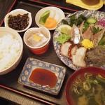 日本料理 はら田 - 地物定食(ランチ)