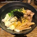 鶴也 - 料理写真:油そば(大盛)