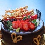 クレヨン - もちろん普通のバースデーケーキも!
