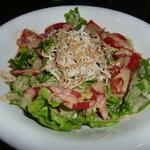 千代村 - トマトとささみのサラダ