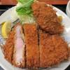 とんかつ 田 - 料理写真:特選旨味ロース上とメンチカツ