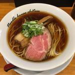 麺庵 ちとせ - 料理写真:「醤油(細麺)」750円