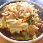 喜味屋食堂 - 野菜ラーメン(800円)