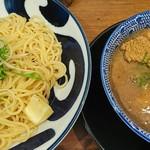 ラーメン ロケットキッチン - 料理写真:濃厚魚介醤油つけ麺(大)+味タマ♪