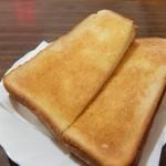 喫茶 紫園 - トーストのみの潔さ!