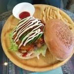 Burger Shop H&S - これはうし江のアボカドチーズバーガー