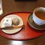 山田屋まんじゅう 茶楽 - おまんじゅう二つ【クーポン利用】