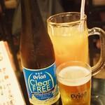 海鮮酒家 中山 - ノンアルのオリオンビールがある!