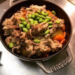 Grill & Kitchen かぼちゃの馬車 - 肉じゃが(コースでご希望のみ)