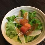 洋食屋くく - セットのサラダ