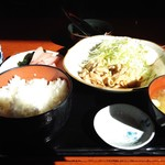 味どころ 遊 - 生姜焼定食