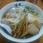 俺系らーめん 藤本 - ワンタンメン900円