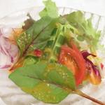 グランドサンピア八戸 - 季節のサラダ
