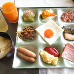 グランドサンピア八戸 - 朝食の一部