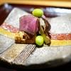 豪龍久保 - 料理写真:九州和牛ヒレと松茸、銀杏の備長炭焼き(魯山人)