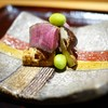 Goryukubo - 料理写真:九州和牛ヒレと松茸、銀杏の備長炭焼き(魯山人)