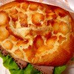トロンちゃんのパン屋さん - ペッパーボンレスハムバーガー