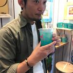 リノアンドアイアコーヒー - 西岡君スイーツ男子^ ^ハワイアンブルー¥500♪