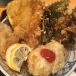 天ぷら けやき 東京駅キッチンストリート店 -