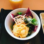 レストラン ミカク - ポテトサラダwithグリーン
