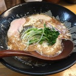 ぼっこ志 - 鰹干鶏白湯(850円)