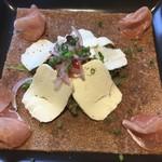 ダニーズレストラン - 生ハムとチーズのガレット