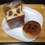 アンデルセン - パンダ食パン(1/2)とあんパンダ