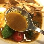 スープカリーアンドバー スパイスタイガー - スープはこんな感じ