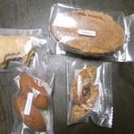 ヴァン・サンク - 購入した焼き菓子たち