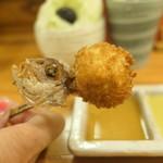 串かつ料理 活 - 鯛 三つ葉と生姜