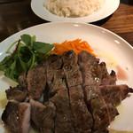 73535003 - 週末10食限定ランチ、豚肩ロースのグリル税込千円。