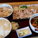 柳屋 - 料理写真:豚シャブ定食