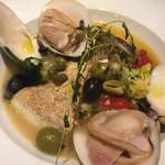 酒場~ルDEN - 肉厚で大きなハマグリとお魚で♪