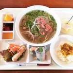 ベトナム料理レストラン 333 - 牛肉フォーセット 790円