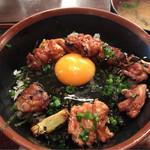 ゑびす - 鶏丼 500円。