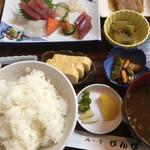 びんび - 刺身ランチ(税込750円)(2017.09現在)