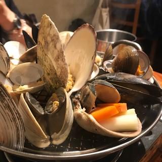 貝と魚シェルハラ