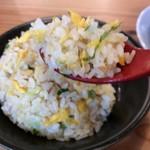 ラーメン獅子〇 - パラパラほぐれる美味しいチャーハンです(2017.9.22)