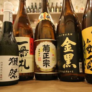 ◆日本酒や焼酎、洋酒をご用意◆