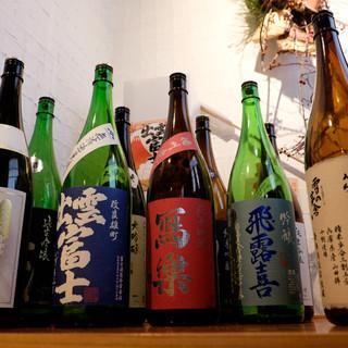 常時120種類の和酒を完備、当店でしか飲めないお酒あります!