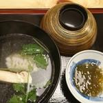 73543354 - 鱧と松茸のお椀