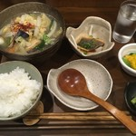新潟の地酒と銀シャリ 信 - 和風出汁の豚吸いセット