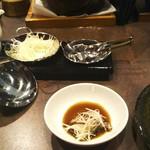 中華割烹 ひさだ - 醤油と刻み生姜