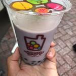 たぴヤ - 紅芋ミルクMサイズ