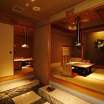 神楽坂 翔山亭 - 掘りごたつ個室