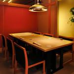 神楽坂 翔山亭 - テーブル個室