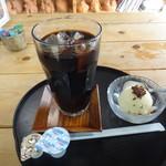 露伴亭 - アイスコーヒー