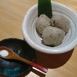 時香忘 - 蕎麦がき 864円