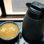 そば 俺のだし - そば 俺のだし GINZA5 @銀座 保温ポットで供される蕎麦湯